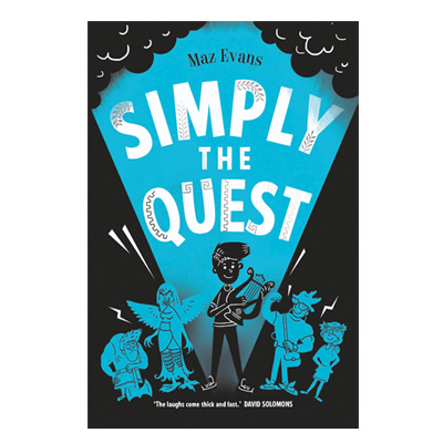 Simply the Quest (book Who Let The Gods Out?)